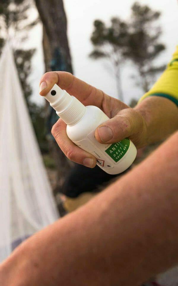 deet 40% spray backpackkit