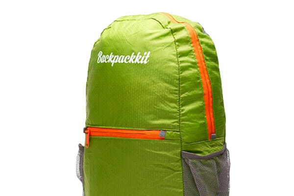 Backpackkit daypack staand