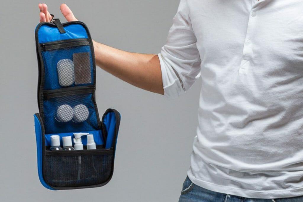 Backpackkit toilettas hangend backpacken