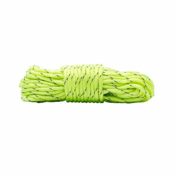 backpackkit touw voor backpackers gevouwen