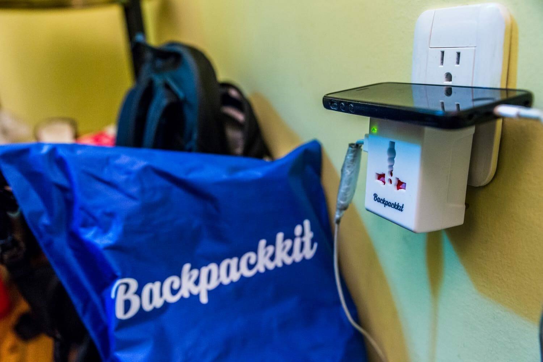 Backpackkit wereldstekker voor backpackers