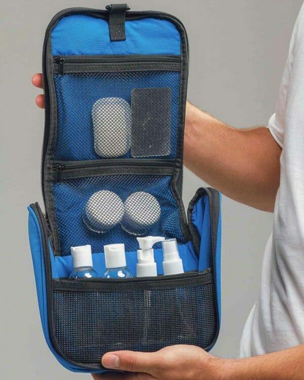 hervulbare reisflesjes backpackkit
