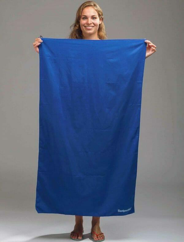 microvezel handdoek backpackkit