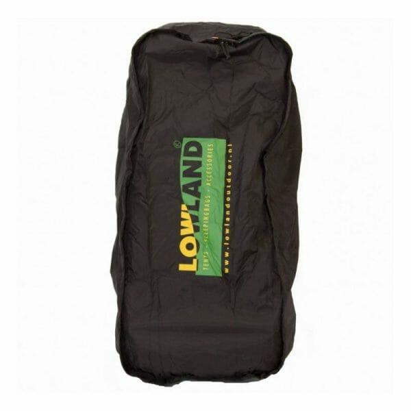 Backpackkit lowland flightbag regenhoes voor backpackers