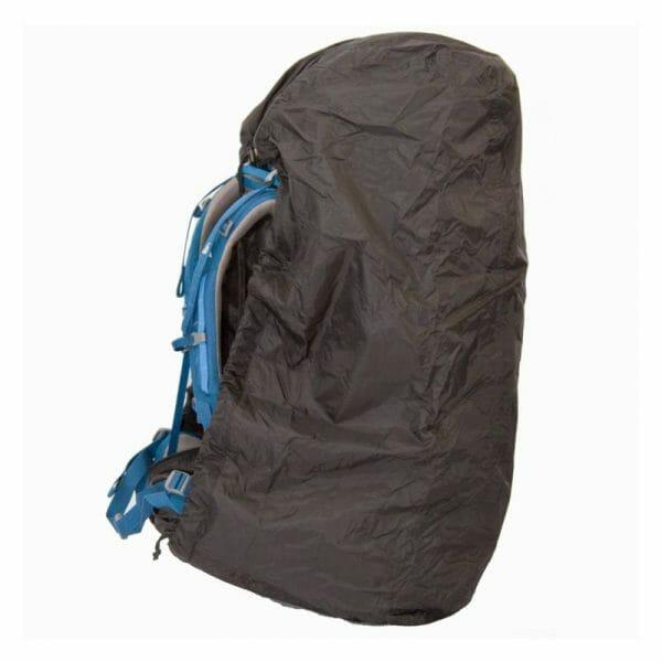 Backpackkit lowland flightbag regenhoes voor backpackers backpack