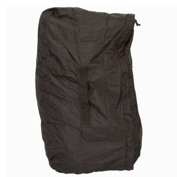 Backpackkit lowland flightbag regenhoes voor backpackers gesloten