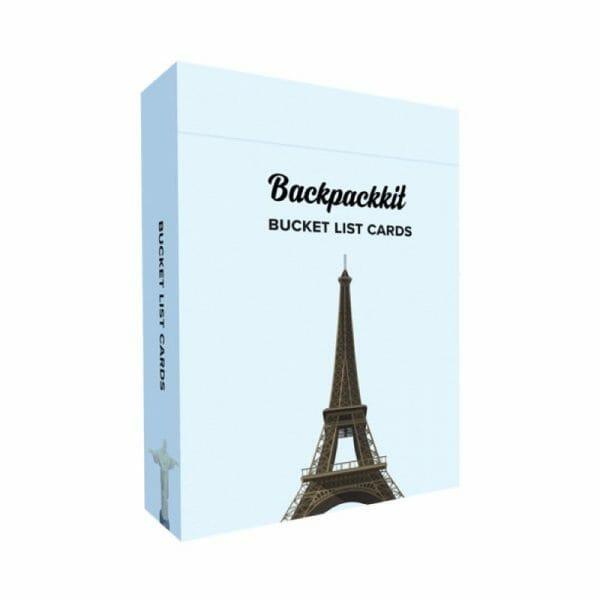 Backpackkit bucket list cards