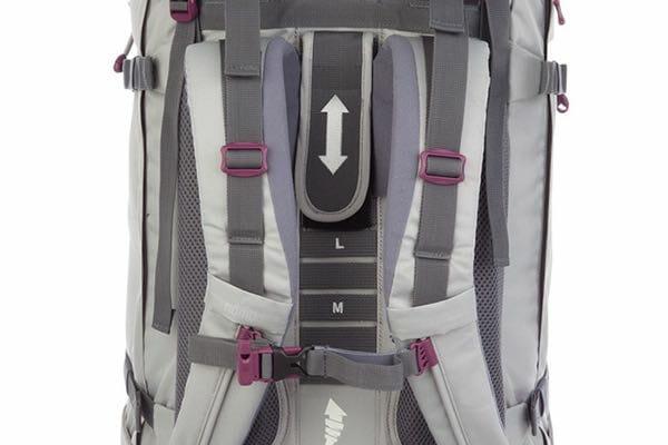 Backpackkit Nomad Sahara Backpack achterkant