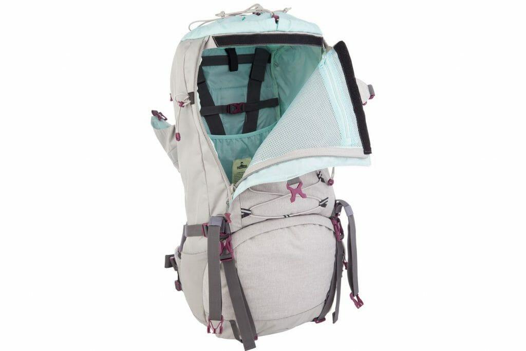 Backpackkit Nomad Sahara backpack voorvak