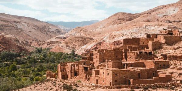 Backpacken budget marokko Telouet